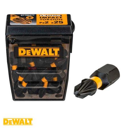 Puntas para destornillador de impacto Dewalt DT70527T