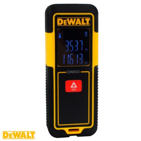 medidor laser de distancias dewalt DW033