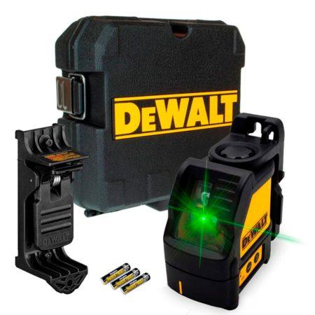 Láser Autonivelante Dewalt DW088CG de Líneas Verdes