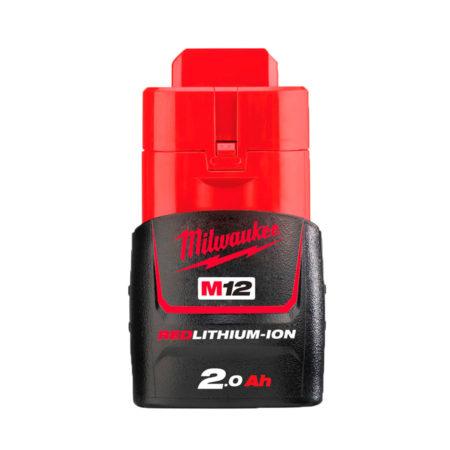 milwaukee bateria m12 2 ah