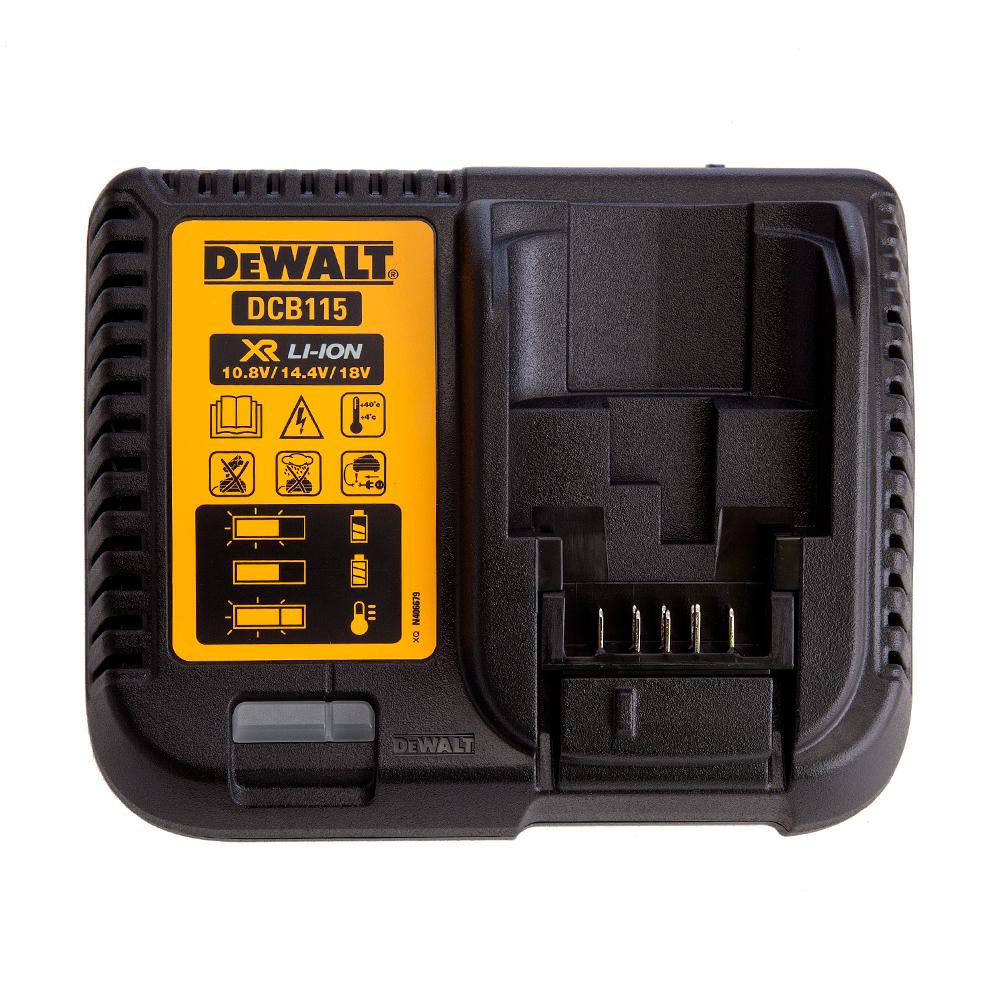 Cargador de baterías Dewalt DCB115 18V