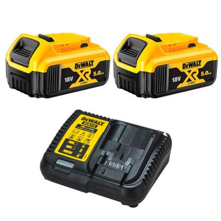 Pack baterías con cargador Dewalt