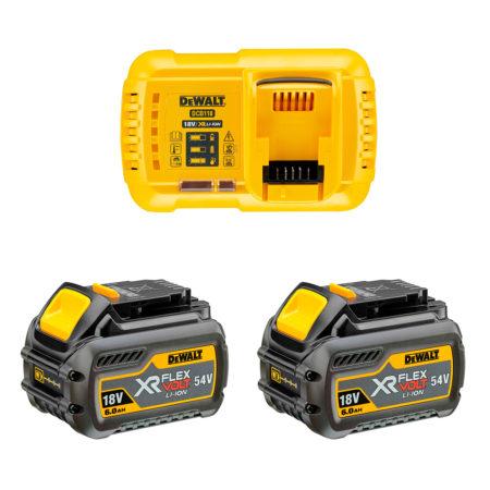 Pack baterías Dewalt 54V flexvolt