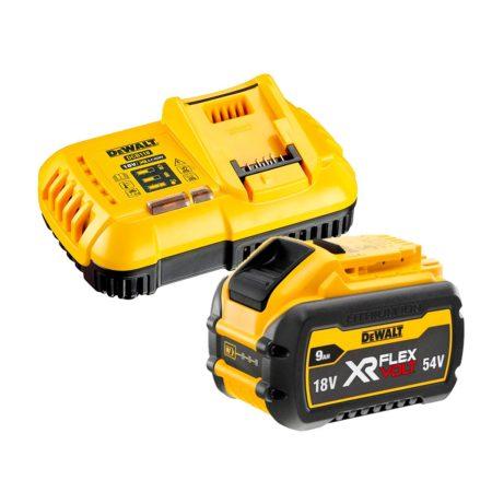 Bateria Dewalt Flexvolt 9ah con cargador rapido