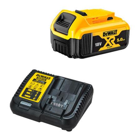 Bateria Dewalt con cargador