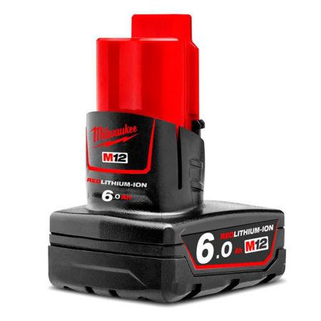 milwaukee m12 bateria 6 amperios