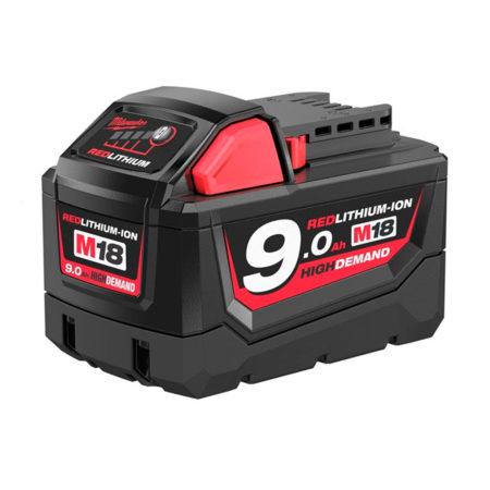 batería milwaukee m18 9ah li ion